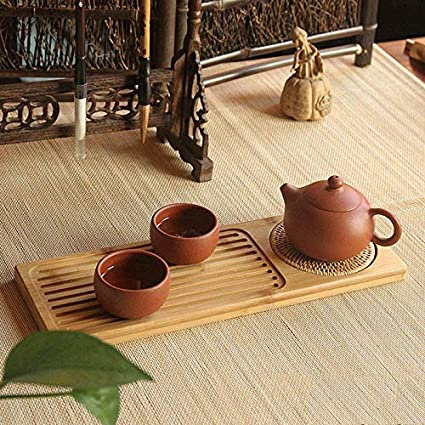 Amazon Com Teapot Craft Table Rattan Tea Pad Skidproof Design Kung