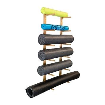Ultra Fitness Gear Premium Foam Roller and Yoga Mat Rack