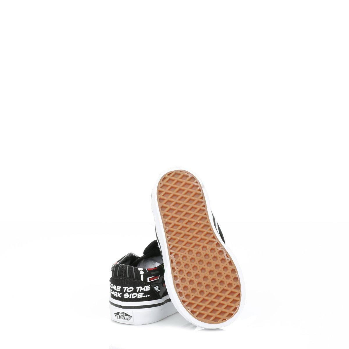 f971c0151a192 Vans Neonato Star Wars Nero Darth Vader Slip On scarpe da ginnastica   Amazon.it  Scarpe e borse