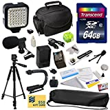 Advanced Accessory Kit for Canon HF S10 S11 S20 S21 S30 G10 G20 S100 M30 M31 M32 M40 M41 M300 M400 XA10, HF10, HF11, HF20, HF100, HF200, HG20, HG21, HG30, HFS10, HFS11, HFS20, HFS21, HFS30, HFG10, HFG20, HFS100, HFM30, HFM31, HFM32, HFM40, HFM41, HFM300,
