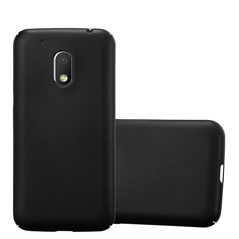 Cadorabo Funda para Motorola Moto G4 Play en Metal Negro: Amazon ...