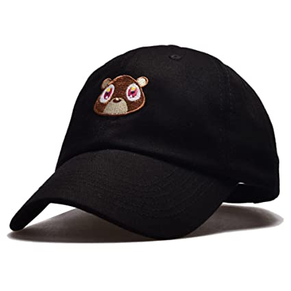 CYNDIE Unisex Outdoor Casual Cool Fashion Sun Protected Dropout Bear  Baseball Cap Snapback Hat 7   Amazon.ca  Home   Kitchen 410b73c1108