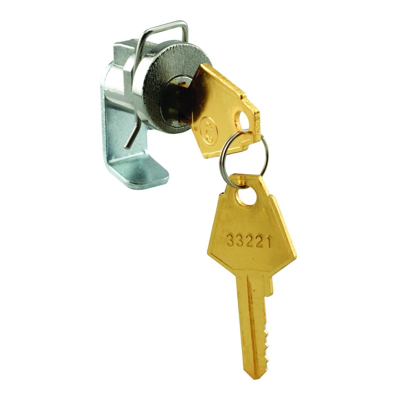 prime-line mp4053メールボックスロック、1インチ、XL、亜鉛、1のパック B07793L26P 14954