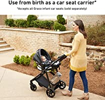 Graco Modes Element Stroller Baby Stroller With Reversible Seat Extra Storage Child Tray Gotham Amazon Sg Baby