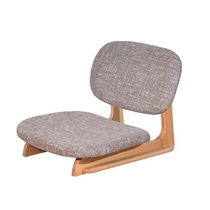 Amazon.com: DYFYMX,Stylish stool Solid wood chair Japanese style ...