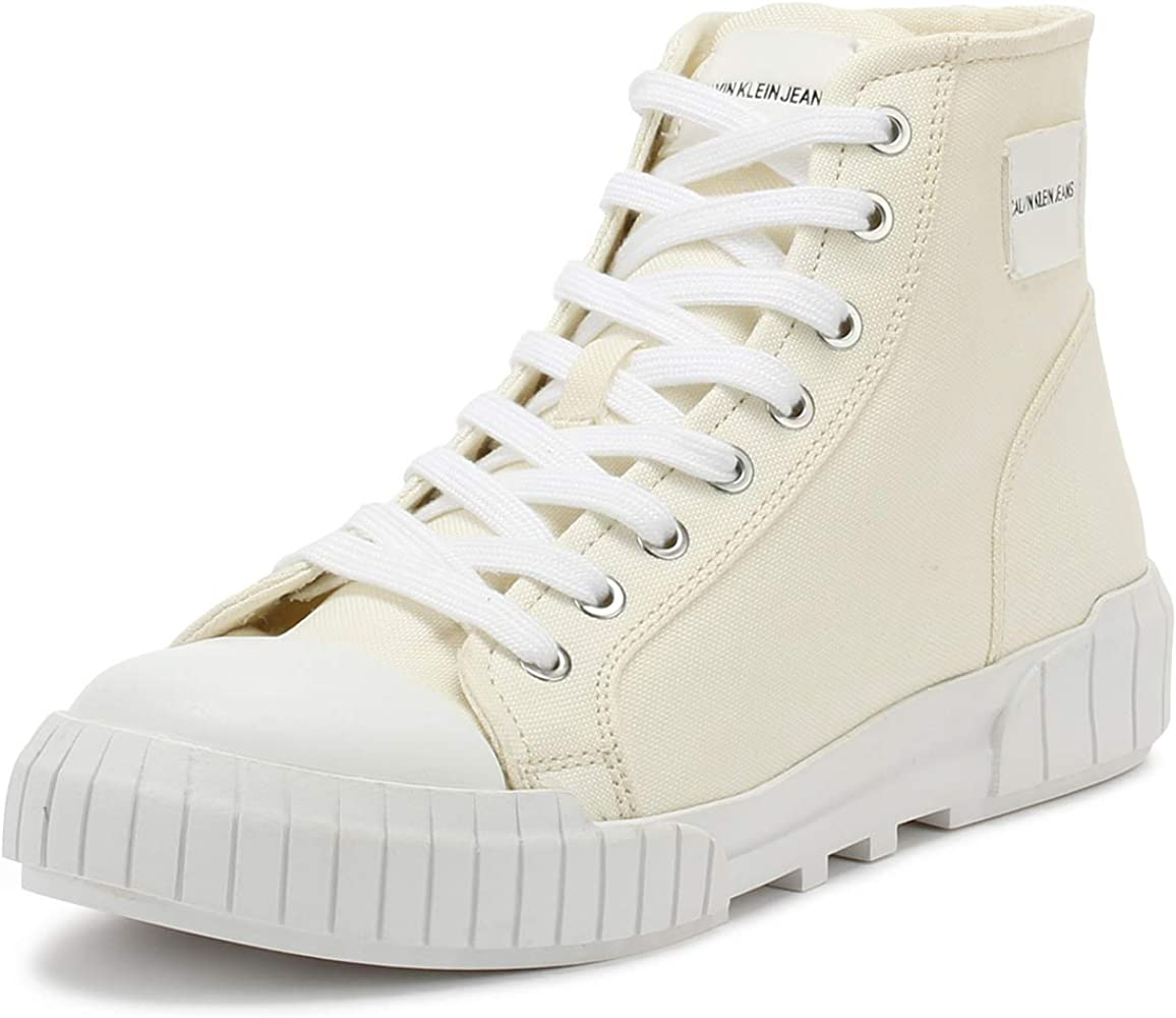 White Nylon Briony Sneakers