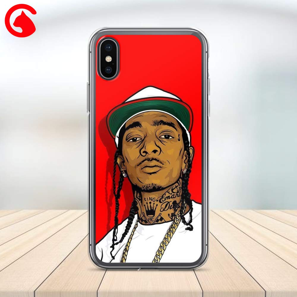 CatixCases Nipsey Hussle Phone Case Artwork Fashion Gift Cell Plastic Сlear Case for Apple iPhone X//XS//XR//XS Max 6S plus Protector Protective Cover Art Design plus iPhone 6 7//8