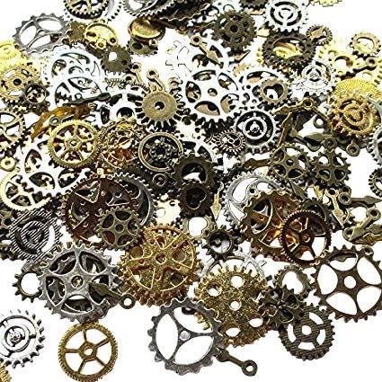 Lot d'environ 70 accessoires steampunk (100 g) Chenkou Craft ...