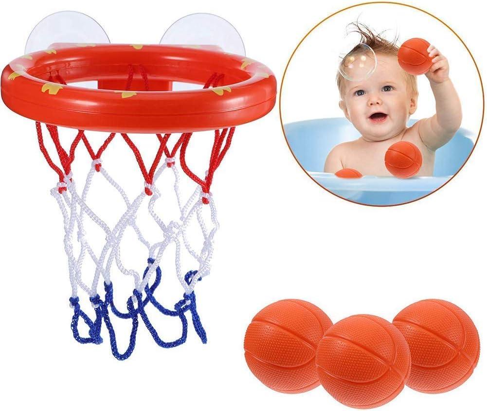 Baño Juguetes para Niños Suctions Vasos Divertido Baloncesto Juego ...