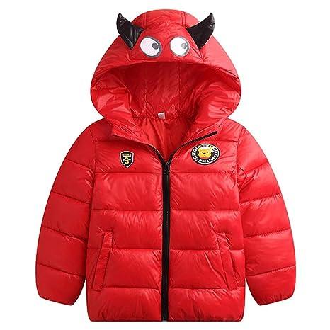 Kids Down Jackets Toddler Boys Girls Winter Padded Coats Lightweight Puffer Jacket Quilted Outerwear