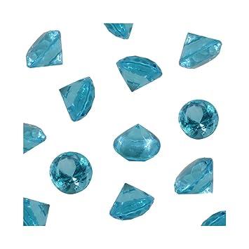 Amazon Turquoise Acrylic Diamond Vase Fillers 1 Pound 240 Pcs