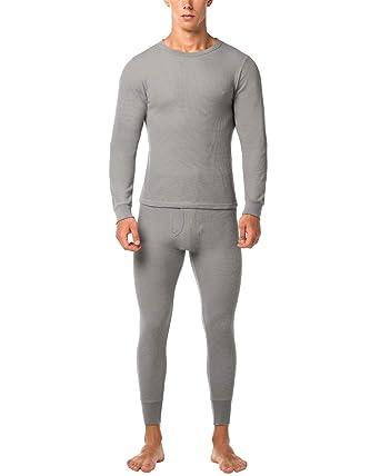 d38ec1dfaeeeb LAPASA Men's Thermal Underwear Set Thermal Underwear Men Thermals Men Long  Sleeve Top & Bottom Long