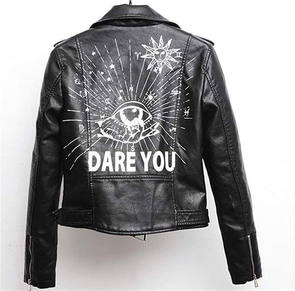 Women Faux Leather Jacket Spring Autumn Pu S-XL Female Coat Hip Hop Clothing Ladies Motorcycle Outerwear