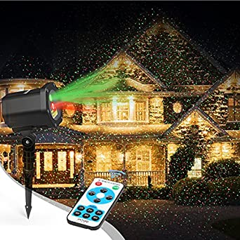 laser christmas lights innoolight outdoor christmas laser lights show red and green starry christmas lights projector laser holiday lights with rf remote