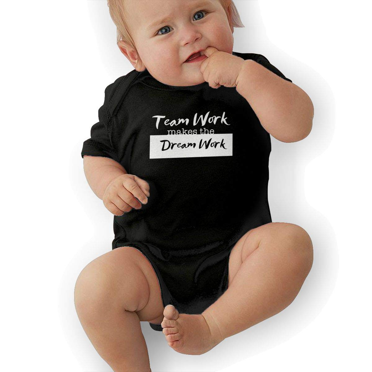 HappyLifea The Dream Work Baby Pajamas Bodysuits Clothes Onesies Jumpsuits Outfits Black