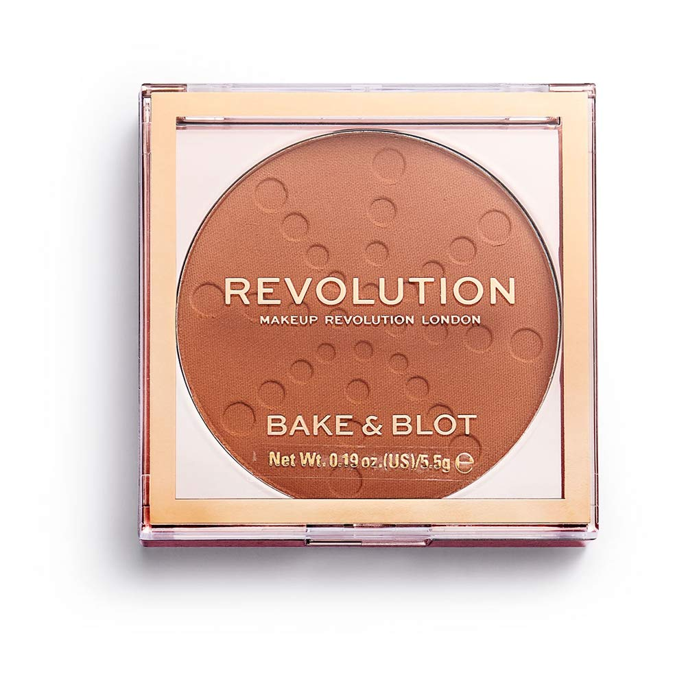 Makeup Revolution Bake and Blot, Orange, 5 g