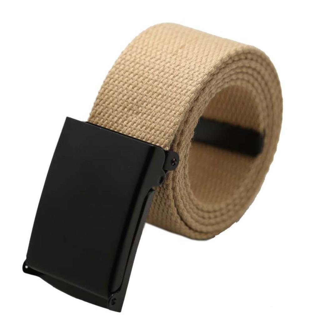 Vcenty Mens Military Tactical Duty Web Belt,Outdoor Canvas Webbing Belt