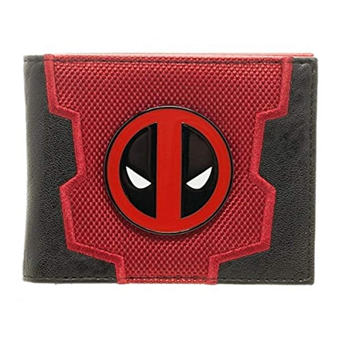 Marvel Comics Deadpool traje hasta caja Bifold Wallet ...
