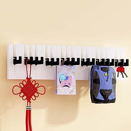 Xiaolin Creativo Piano Perchero Pared Percha Ropa Gancho ...
