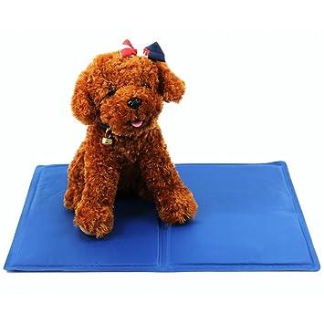 Mascota de refrigeración, refrigeración cómodo Pet Mat por rechel, presión activado refrigeración almohada cama