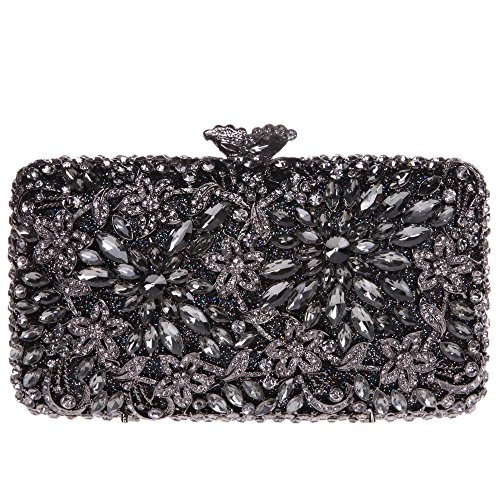 The Silk Flower with Pearl Women's Bridal Evening Bags - 4