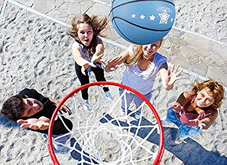 Senston 27.5 Youth Basketball for Kids Junior Children Official Size 5 Basketball Luminous Night Ball School Kids Basketball