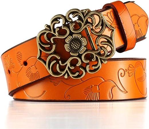 Women S Belts Cinturon De Cuero Genuino Para Mujer Moda Retro Correa De Pantalones Vaqueros Puebla Tecnm Mx