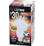 アイリスオーヤマ LED電球 口金直径26mm 30W形相当 電球色 下方向タイプ 密閉形器具対応 LDA3L-G-3T2