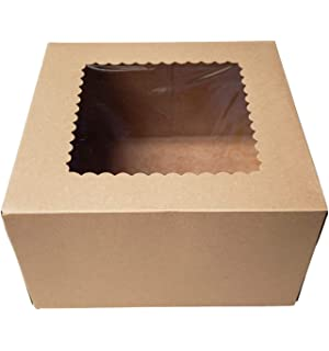 Amazon.com: Ventana Pastel Cajas 10 x 10 x 5 – 8 cajas 10 ...