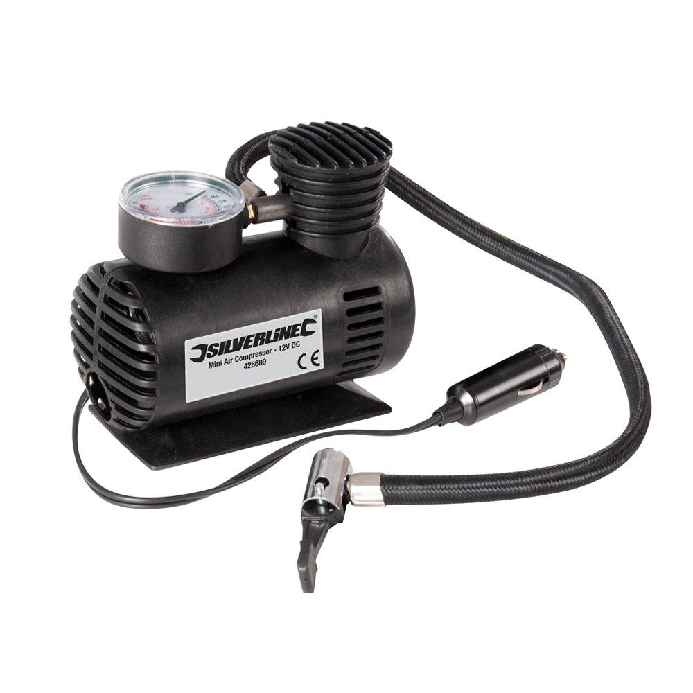 DC Silverline 425689 Mini Air Compressor 12 V