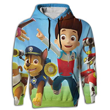 Paw Patrol Chase Wallpaper Mens Full All Over Printed Hoodies For Men With