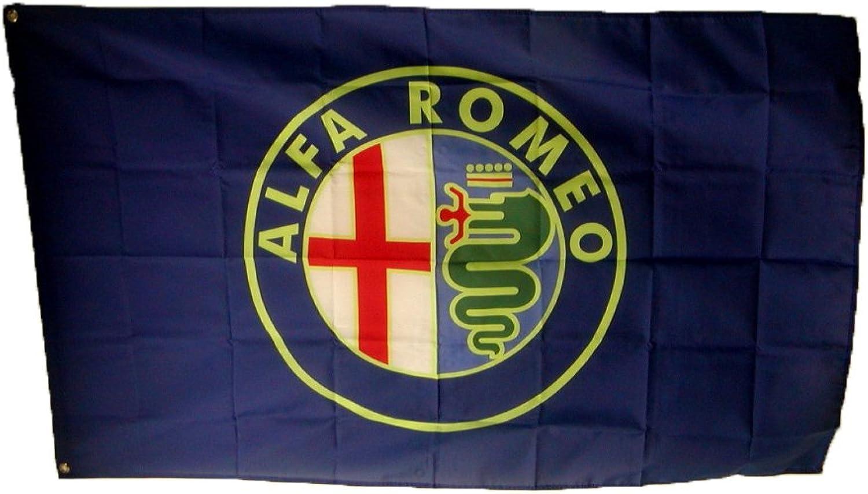 CG Autowood Alfa Romeo Racing Flag