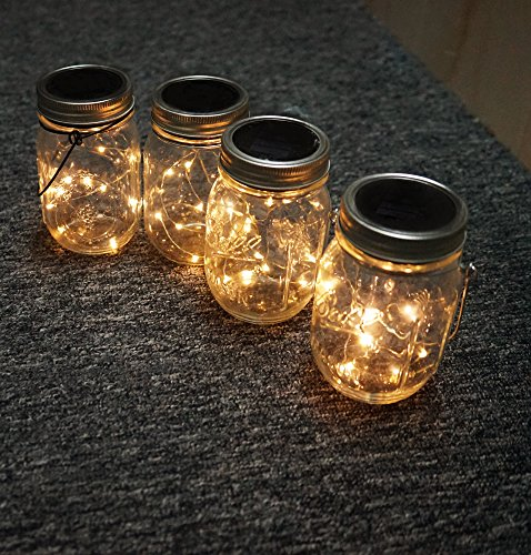 5-Pack-Solar-Mason-Jar-String-Lights-Mason-Jar-Solar-10-Led-String-Fairy-Star-Lights-Screw-on-Silver-Lids-Best-for-Mason-Jar-DecorPatio-Garden-Path-Lights-Color-Warm-White