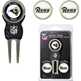 St Louis Rams NFL Divot Tool w/ Three Double Sided Ball Markers