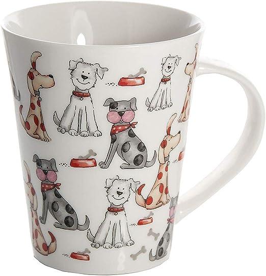 SPOTTED DOG GIFT COMPANY Taza de Desayuno Originales de café té ...