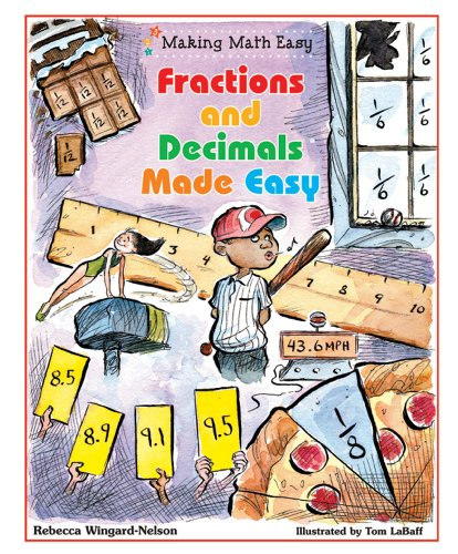 math made easy fractions - 9