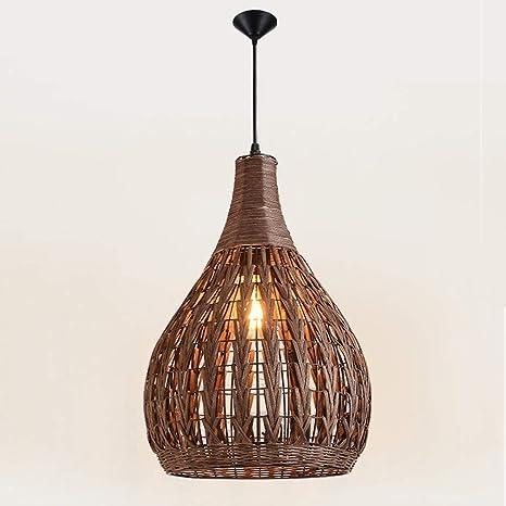 Lámpara de araña antigua china de lámpara de araña de mimbre ...