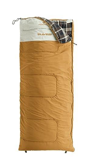 Ferrino SLEEPINGBAG Travel 190 V Saco de Dormir Tiempo Libre y Senderismo Unisex Adulto, Amarillo (Yellow), Talla Única: Amazon.es: Deportes y aire libre