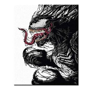 Dirart Rahmenlos Diy Digitale Malerei Malen Nach Zahlen Marvel New