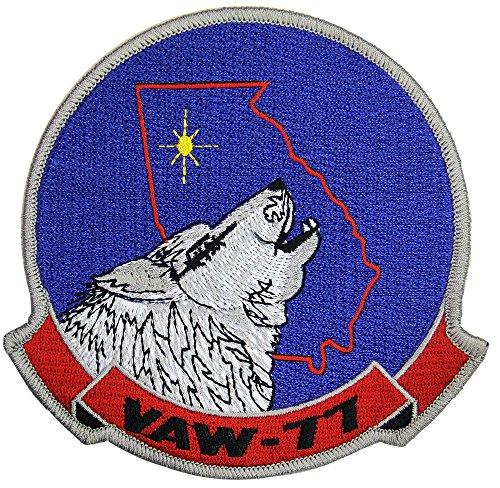 Navy Carrier Airborne Early Warning Squadron VAW-77 Patch Full Color