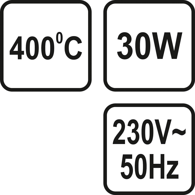 Leistung nach Wunsch: 30-60 Watt STHOR L/ötkolben 400/° ergonomische Ausf/ührung L/ötspitze: 4 mm | 30 Watt Weichl/öten Feinl/ötkolben
