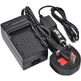 DMW-BLG10 Battery Charger AC/DC Single for Panasonic DMWBLG10 DMW-BLG10E DMW-BLG10GK DMW-BLG10 DMW-BLG10E DMW-BLG10GK DMW-BLG10PP Lumix DMC-G1x DMC-GF2 DMC-GF2C DMC-GF2CEB DMC-GF2CGK DMC-GF2CK DMC-GF2CR DMC-GF2CS DMC-GF2CW DMC-GF2GK DMC-GF2K DMC-GF2P DMC-GF2R DMC-GF2S DMC-GF2W DMC-GF6 DMC-GF6K DMC-GF6R GF6T GF6W GF6X DMC-LX100