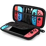 UGREEN Switch Carrying Case for Nintendo Switch Lite Portable Hard Shell Travel Case Pouch Protective Cover Bag with 9…