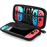 UGREEN Switch Carrying Case for Nintendo Switch Lite Portable Hard Shell Travel Case Pouch Protective Cover Bag with 9 Game Cartridges Card Slots for Nintendo Switch Console Pro Controller Accessories
