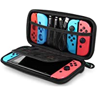 UGREEN Carrying Case Compatible for Nintendo Switch, Hard Shell Travel Case Protective Cover Bag with 9 Game Cartridges…
