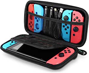 UGREEN Carrying Case Compatible for Nintendo Switch, Hard Shell Travel Case Protective Cover Bag with 9 Game Cartridges Card Slots for Nintendo Switch Console Pro Controller Accessories