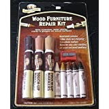 Parker & Bailery Wood Furniture Repair Kit- Filler Sticks and Woodtone Markers by PARKER BAILEY CORP