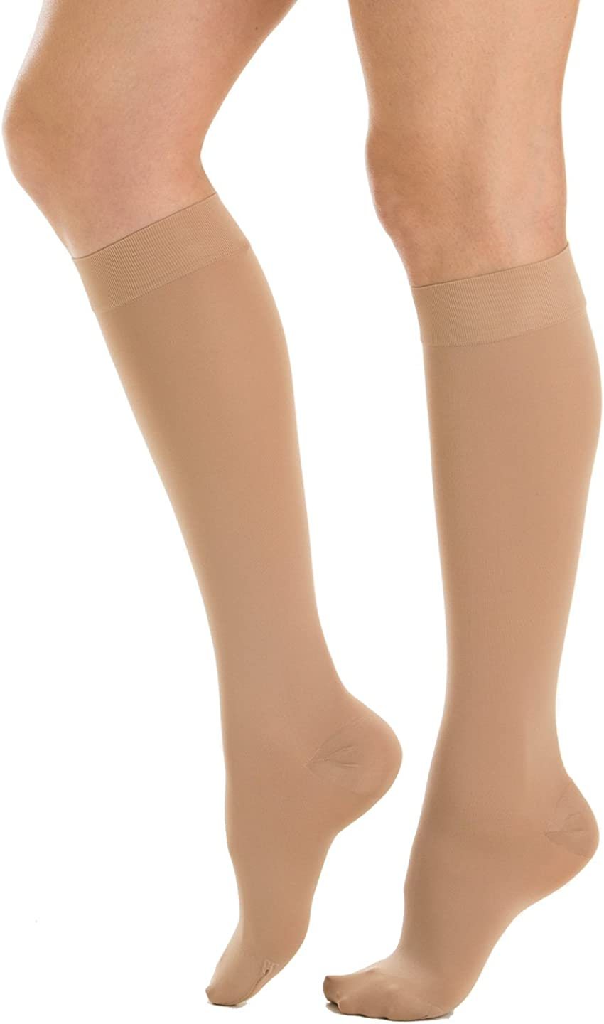 Relaxsan M1050 Cotton medical compression knee high socks - Class 1 (15-20 mmHg), 100% Made in Italy