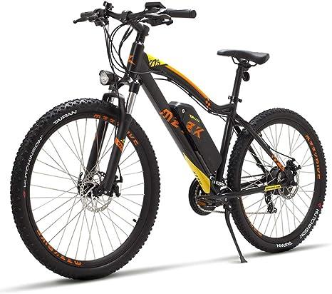 YRWJ Bicicleta Eléctrica De Montaña Desmontable 48V Batería De ...