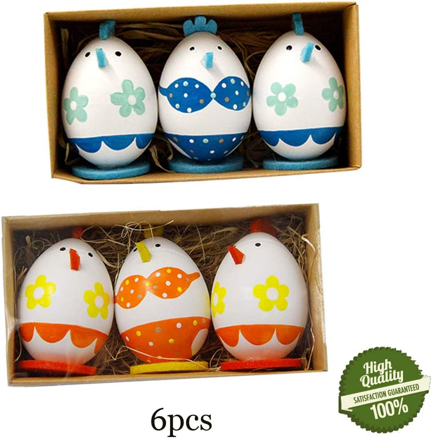 Morbuy Pascua Decoration, 6PC Huevos de Pascua Ninos Mini Juguetes ...